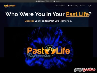 Astralware's Past Life Regression