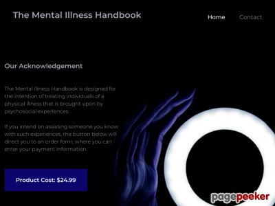 The Mental Illness Handbook