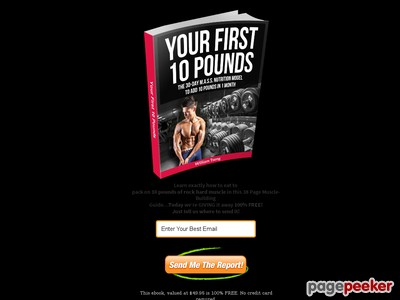 thankyou – Your First 10 Pounds