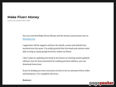 Fiverr Success Ebook - $4000 A Month From A Top Rated Seller - 2016!