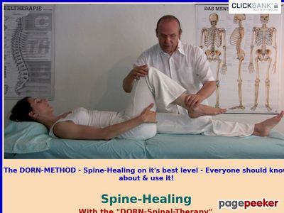 Spine-Healing with The DORN-Method