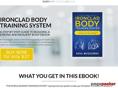 IronClad Body Training System – IronClad Body Training System