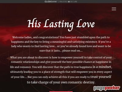 Home - His Lasting Love