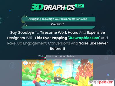 3D Graphics Box  - Ready Made Graphic Designs