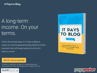 It Pays To Blog | The ultimate guide making an income from blogging