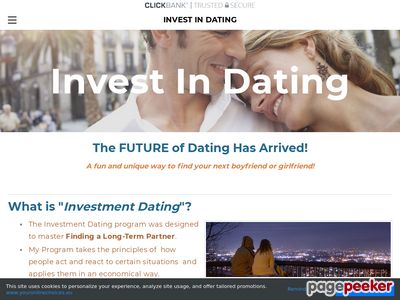 Invest in Dating - Home